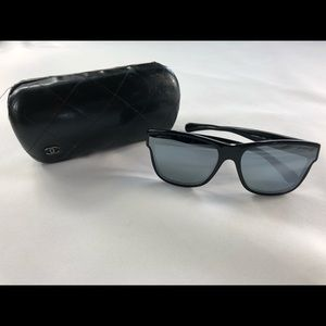 Chanel CH5386 Butterfly Sunglasses Black Frame